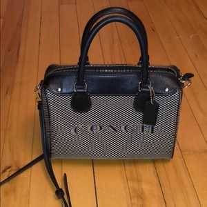 Coach Mini Bennett Jacquard Bag